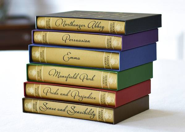 jane austen folio-society-jane-austen-set
