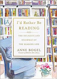 i'd rather be reading bogel